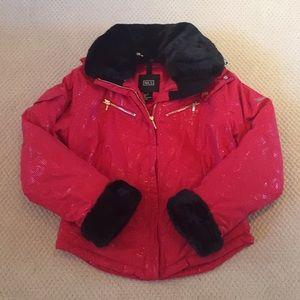 NILS Red & Black Ski Jacket